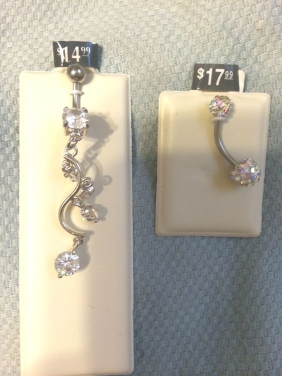 New belly button rings