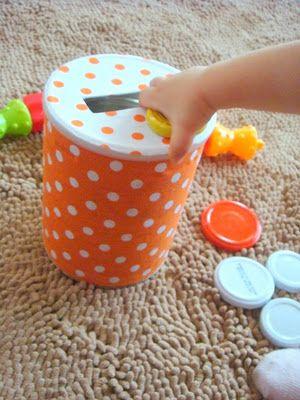 sol da eira: Brinquedo de lata | Can toy tutorial