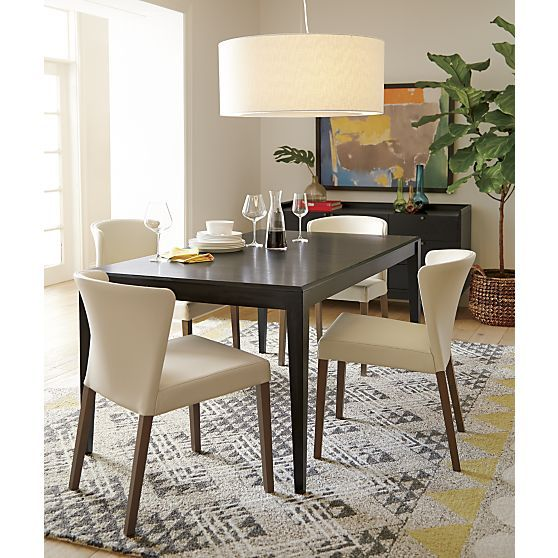 Facet Extension Dining Table | Crate And Barrel | Dining Rooms | Pinterest  | Crates, Barrels And Extensions
