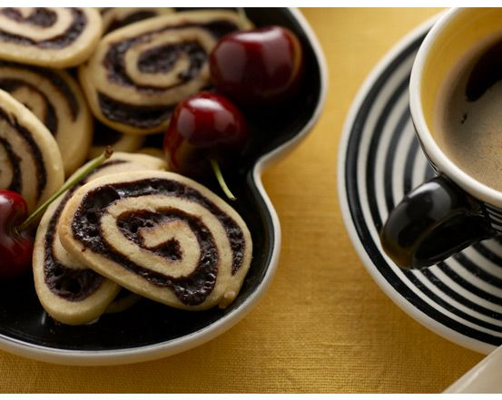 Choc cherry pinwheel biscuits, check out http://www.ckaos.com.au/_blog/Ckaos_Blog for the recipe!!
