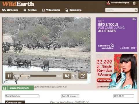 HOW TO MAKE A VIDEO MARK.....WildEarth™: September 2013