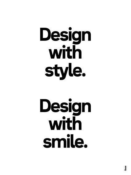 Design with style