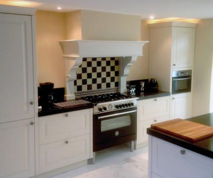keukenschouw voor landelijke keukens of dampkap schouw ornamenten ...