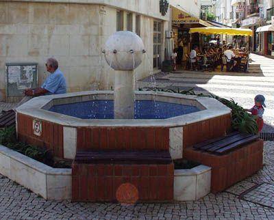 Fonte das Oito Bicas-Lagos: Portugal Chafarizes