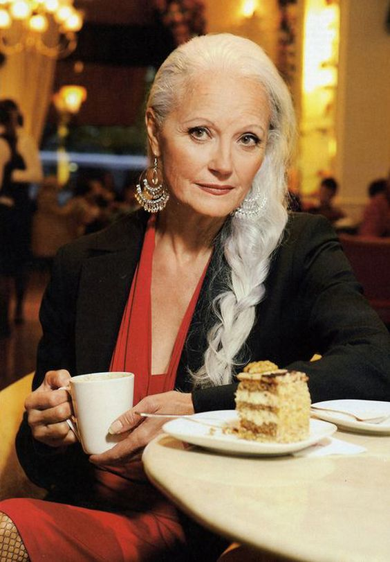 Sera Rodriguez (age 62) a senior supermodel from Switzerland and four-time grandmother! something to aspire to!: