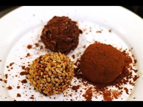 Brigadeiro Gourmet (Como faz Brigadeiro Gourmet?) - Receita Fácil TV - YouTube