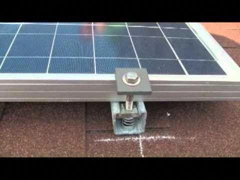 Solar Panel Install Shingle Roof Led Lighting Free Power Free Energy Part 3 Youtube Solarshingles Solar Energy Panels Solar Panels Best Solar Panels