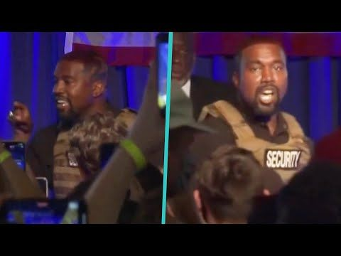 Kanye West S Shocking Campaign Rally Speech Youtube In 2020 Campaign Rally Kanye West Campaign