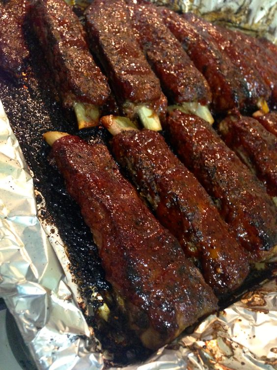 Sweet and Spicy Baked Ribs