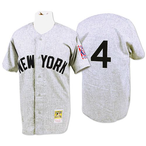 New York Yankees Authentic 1939 Lou Gehrig Road Jersey by Mitchell & Ness - MLB.com Shop