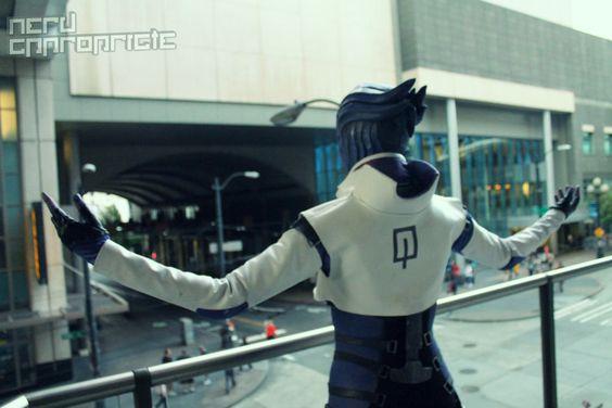 Aria T'Loak from Mass Effect - Photo from http://www.nerdappropriate.com/