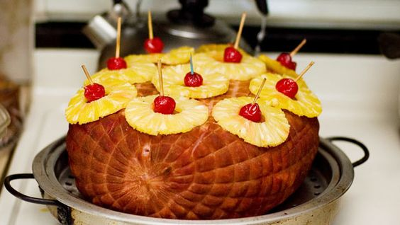 Pineapple Glazed Ham - a Sheila Lukins original.
