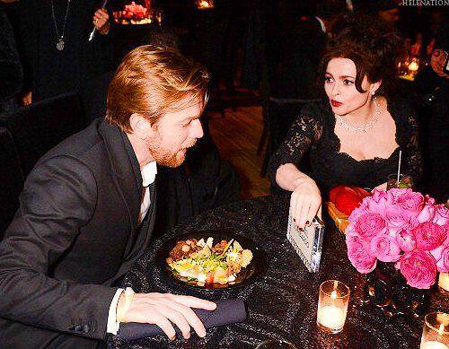 Ewan McGregor and Helena Bonham Carter at the 70th Golden Globe Awards After Party