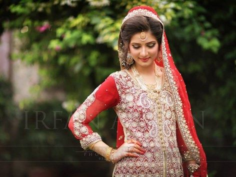 Pakistani Wedding Dresses | Irfan Ahson Photos 03
