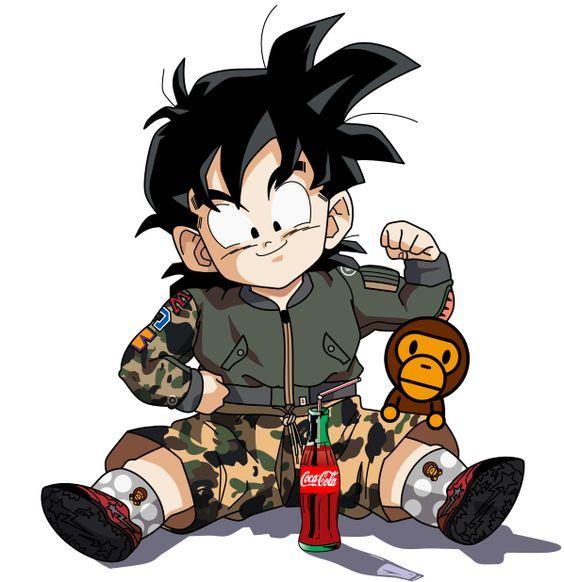 Goku Vs Vegeta Adidas Nike Tribute Dragon Ball Hoodie