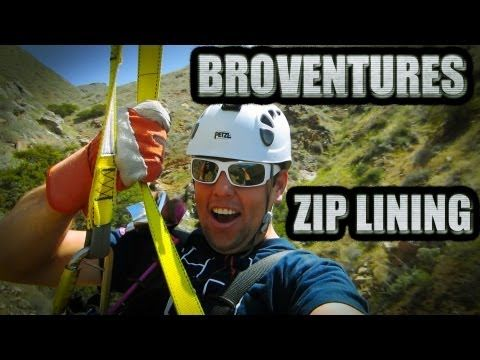 Extreme zip line daycation!