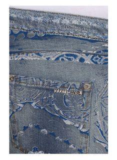 Carlos *Smee* Schimidt Blog sobre laser para jeans (About laser for jeans): Roberto Cavalli Jeans - Inspirações para jeans #laser#laserinspirations#lasermachine#inpirationstojeans