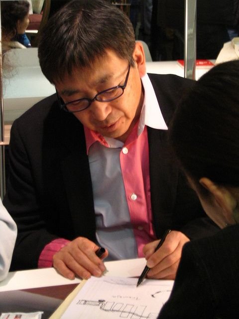 Toyo Ito at HORM Stand, Salone del Mobile 2005