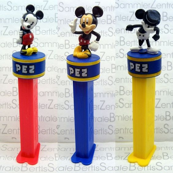 PEZ - MICKEY 80 YEARS - 3 DIFFERENT - limited - Please select !!! in Sammeln & Seltenes, Weitere Sammelgebiete, PEZ | eBay