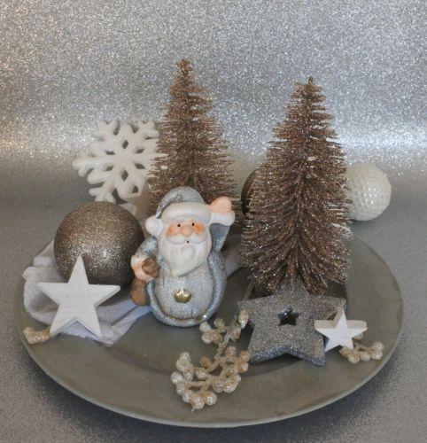 Labuna Winter Deko Teller Tisch Dekoration Tischdeko Weihnachten