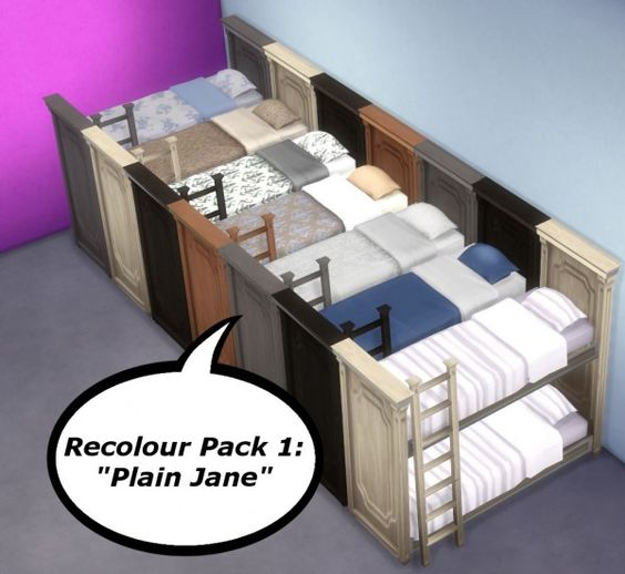 Bunk beds in the sims 4 : Bunk bed sims and on