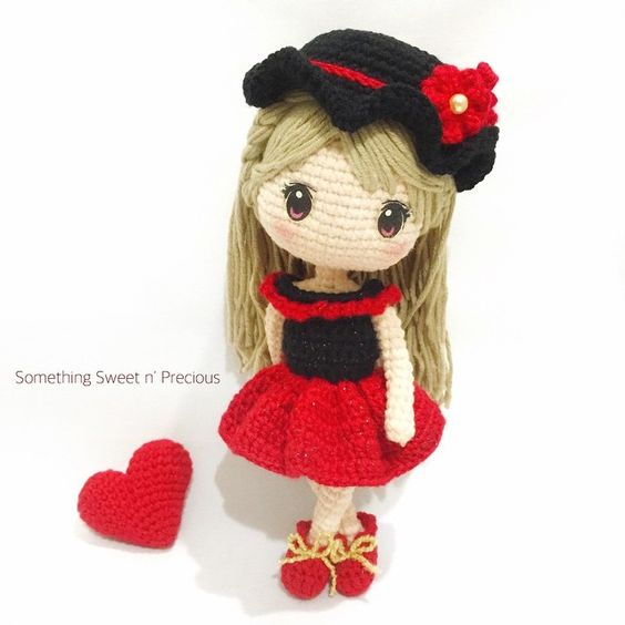 Girl amigurumi Dolls Pinterest Girls, Inspiration ...