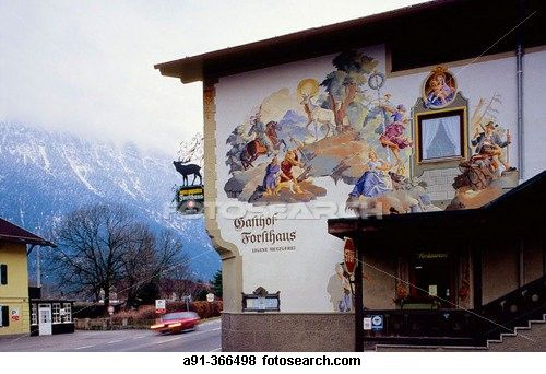 Oberammergau, Germany: