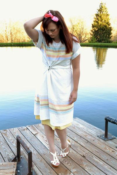 Put a thrift shop spin on spring's pastel fashion trend with tips from @Stacey Kay #goodwill #Goodwillfashion