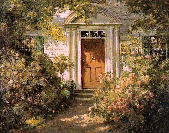 Graves, Abbott Fuller (American, 1859-1936) 2. Американские художники: