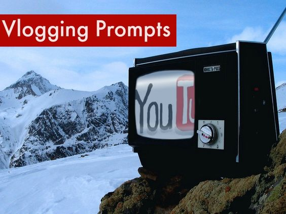 """Vlogging Prompts:   1.) In the land of YouTube """"VEDA"""" means Vlog Every Day April""""…could you do it, why or why not? If you are doing it, link up today's video! ..."""