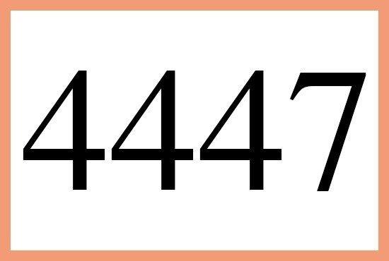4447のエンジェルナンバーの意味はこちらです More Than Ever エンジェル ナンバー エンジェル 運気アップ