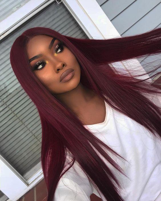 Best Hair Color For Dark Skin Women 32 Photos 2020 Inspired Beauty Hair Color For Dark Skin Hair Styles Wig Hairstyles