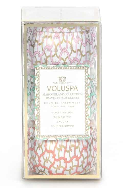 Voluspa 'Maison Blanc' Mini Tin Candle Trio (Nordstrom Exclusive) ($24 Value)