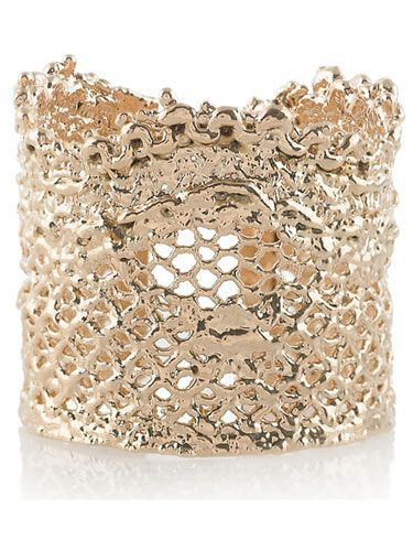 Aurelie Bidermann lace dipped ring.