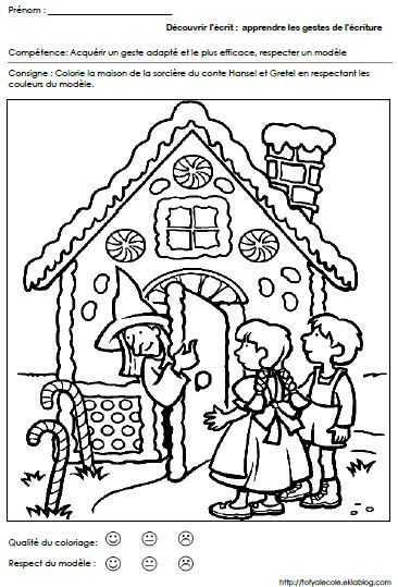 hansel si gretel coloring pages - photo#6