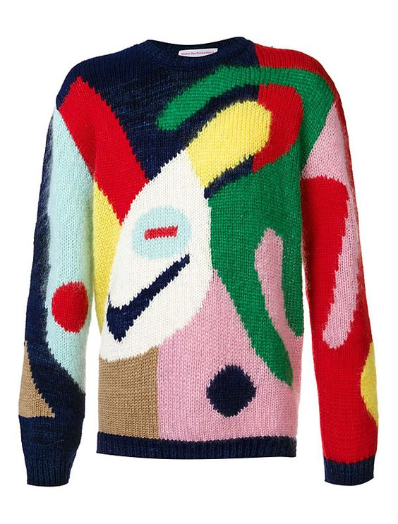 Hooked: Walter Van Beirendonck Sweaters | Hint Fashion Magazine