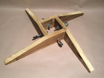 Trees christmas trees and the o 39 jays on pinterest for Build your own tree stand