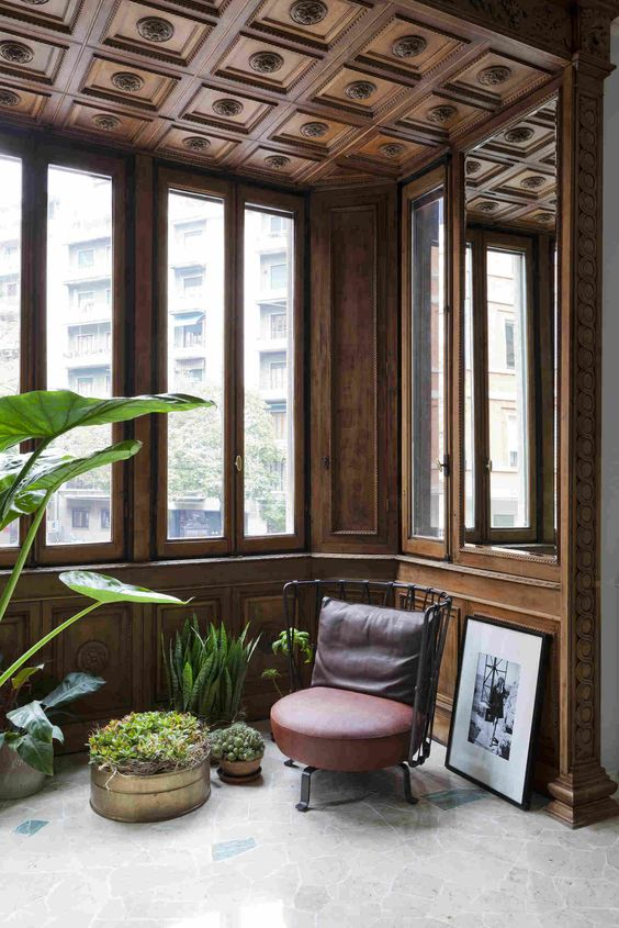 Квартира в стиле 30-х в Милане