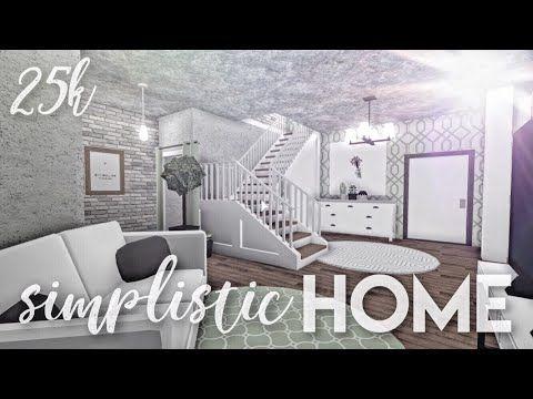 Bloxburg Simplistic Family Home 25k Small House Design House
