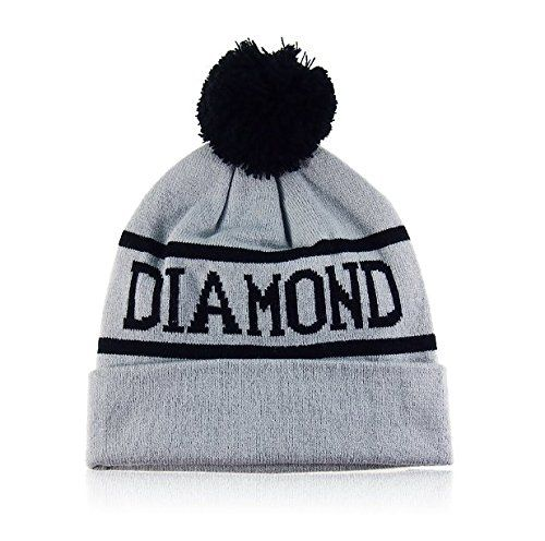 Diamond Supply Co Beanie Hats (Gray and Black)