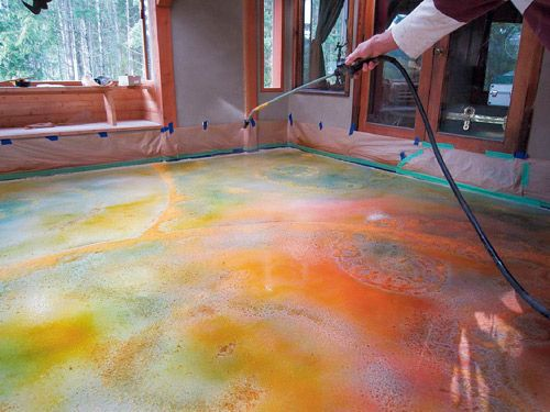 Residential Stained Concrete Floors: Pinterest €� The World's Catalog Of Ideas