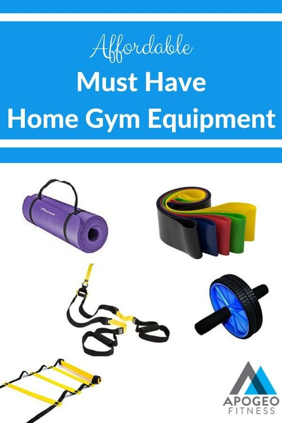 Affordable Must Have Home Workout Equipment