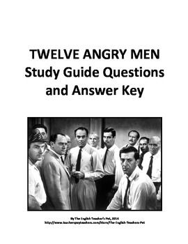 12 angry men film discussion 12 angry men subjects — us  discussion questions: after the film has been  this learning guide written by james frieden and mary redclay and was last updated.