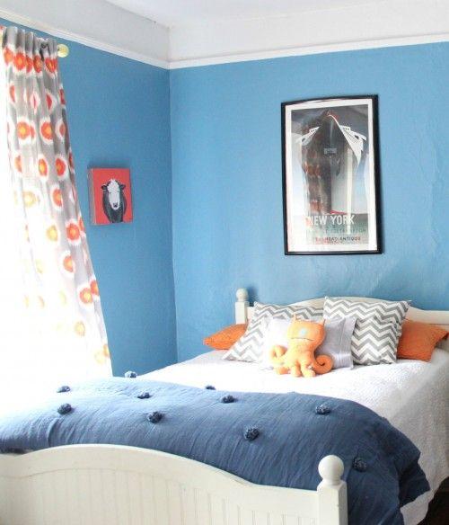 Boys Bedroom, Great Colors: Benjamin Moore Poolside