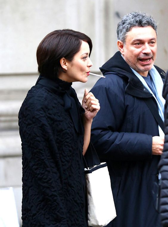 """On the set of """"Assasin's Creed"""" in London,Nov.8th,2015"""