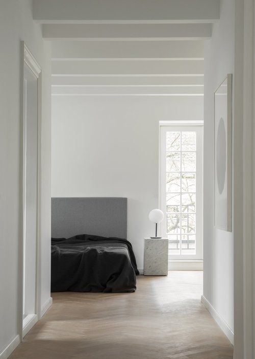 The 6 Types Of Paint Finishes And Sheens Explained The Savvy Heart Bedroom Interior Minimalism Interior Minimal Bedroom