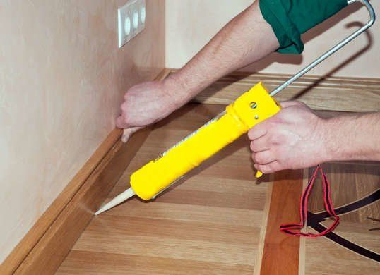 10 Problems You Can Solve With Caulk Caulk Baseboards Baseboards Diy Table Saw