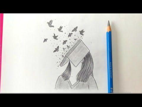 تعلم الرسم تعلم رسم بنت وكتاب بالرصاص للمبتدئين خطوة بخطوة سهل كيوت رسم بنات سهل Youtube In 2021 Art Humanoid Sketch