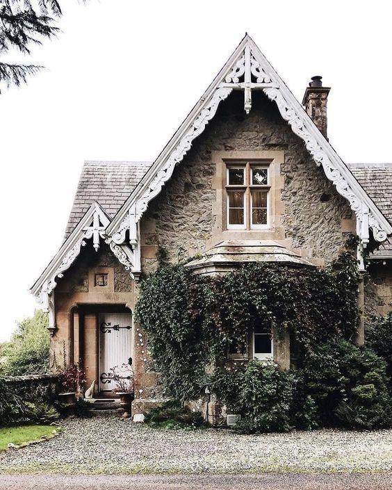 Kathy S Design Blog Stone Cottages House Exterior Cottage