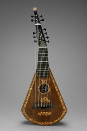 Harp-lute-guitar  about 1810  Invented by Edward Light, English, 1747–1832  Made by A. Barry, English, active early 19th century